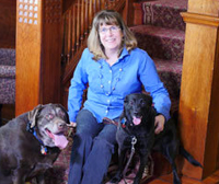 Maureen Kennedy and Dogs